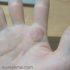 聖職紋、右手に珍しい手相発見しました。
